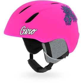 Giro Launch Helm Kinder matte bright pink
